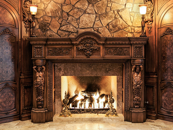 Fireplaces by Cesar